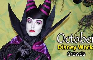 Disney World Crowd Calendar October 2020