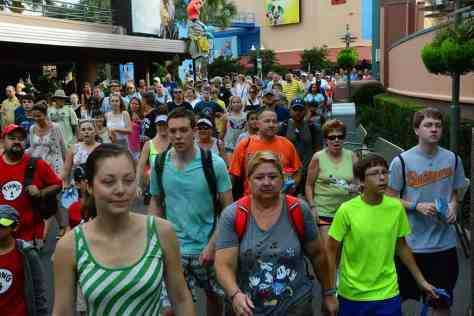 Disney's Hollywood Studios park opening