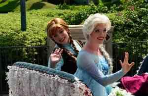 Disney's Hollywood Studios Frozen Anna and Elsa