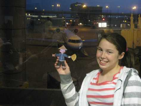 Flat Stanley travels to China with Adventures by Disney