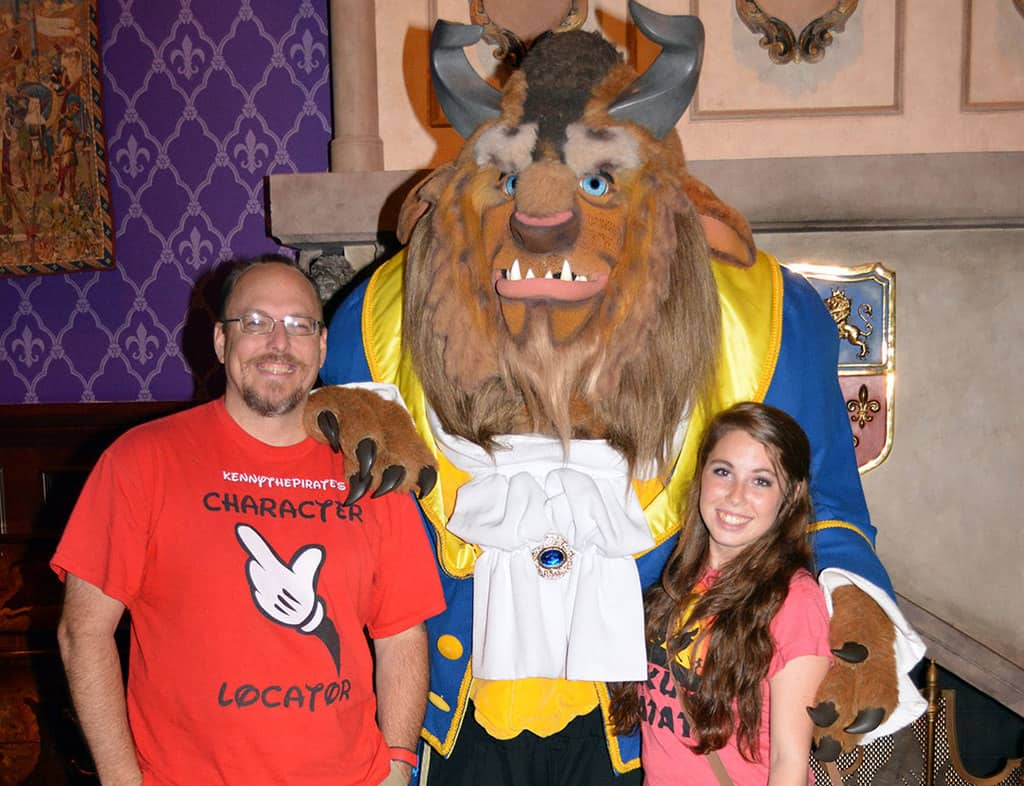 How to meet beast at be out guest restaurant in the magic kingdom be our guest restaurant meet and greet beast kristyandbryce Choice Image