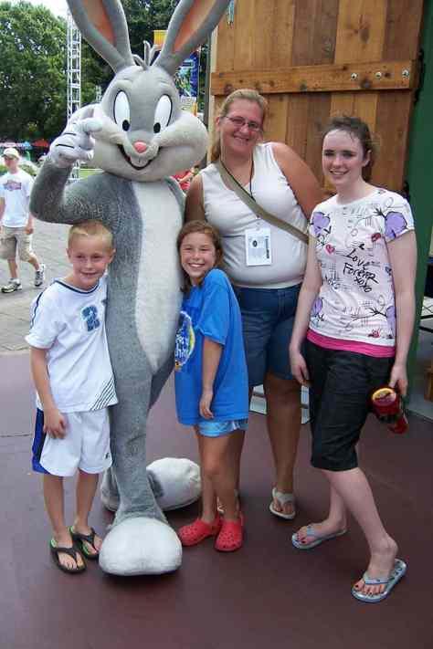Bugs Bunny Six Flags Texas 2007