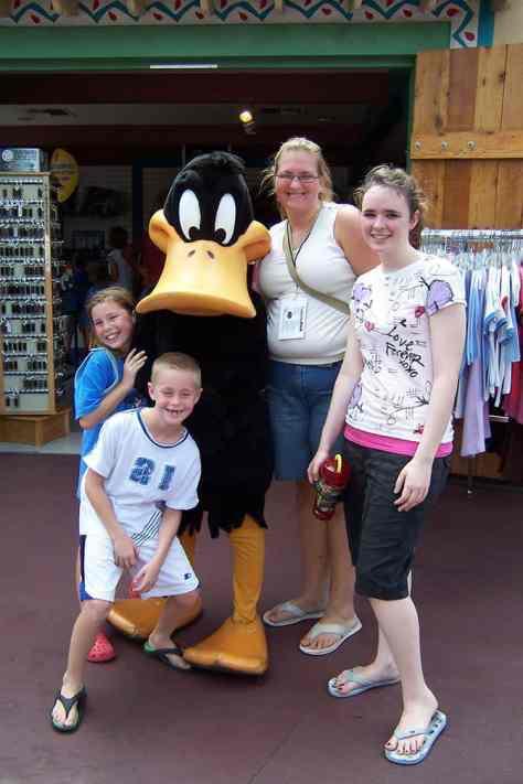 Daffy Duck Six Flags Texas 2007