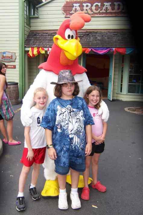 Foghorn Leghorn Six Flags Texas 2007