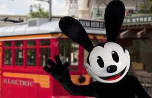 Oswald the Lucky Rabbit Disneyland Disney California Adventure meet and greet