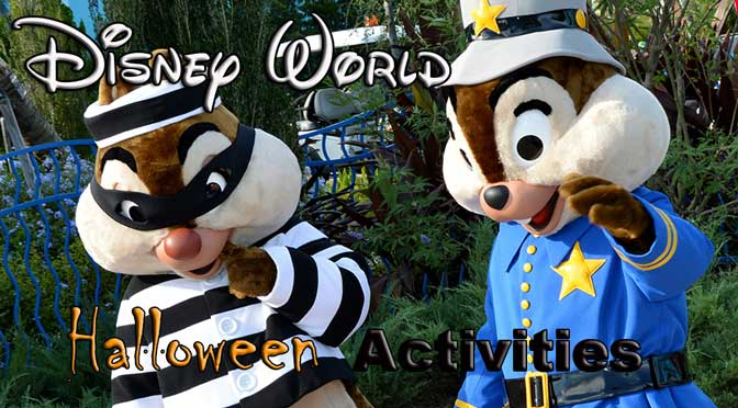 Halloween activities for various Walt Disney World resorts ...