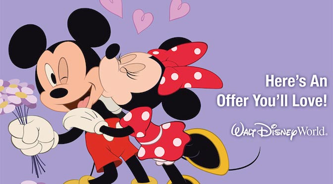 Play, Stay, Dine and Save offer at Walt Disney World
