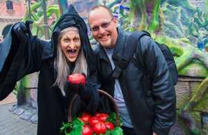 Old Hag from Snow White at Disneyland Paris