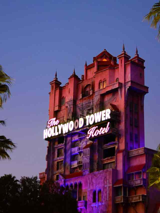 Tower of Terror Hollywood Studios Walt Disney World (13)