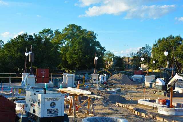 Magic Kingdom hub construction 2015 (5)