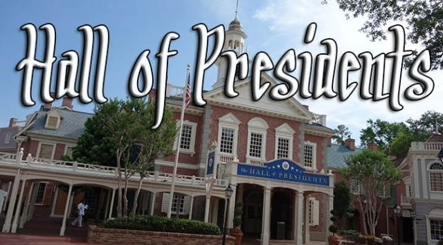 hall of presidents walt disney world magic kingdom liberty square