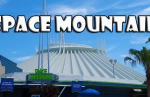 space mountain tomorrowland magic kingdom walt disney world