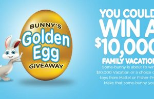 The Bunny's Golden Egg Giveaway l kennythepirate.com