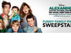 Disney Alexander Funny Family Photo Sweepstakes