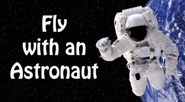 Fly with an Astronaut at Kennedy Space Center Cape Canavaral Florida