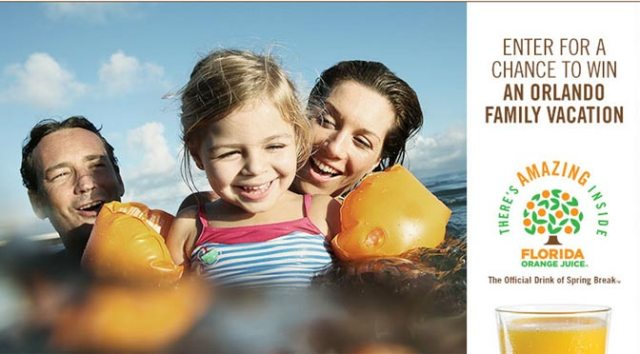 Take a Spring Break with Florida Orange Juice l kennythepirate.com