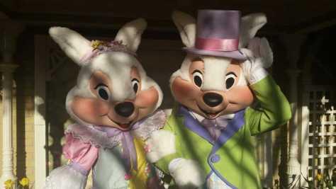 Easter Bunnies at Magic Kigndom