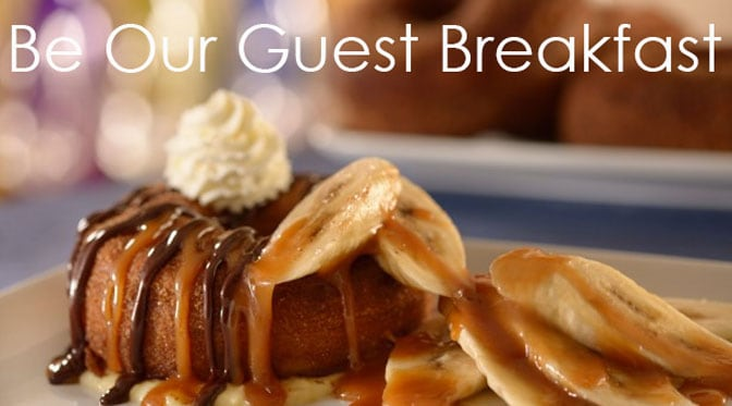 Be Our Guest Restaurant Breakfast Reservations Begin March