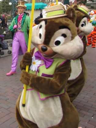 Disneyland Paris Swing into Spring Chip n Dale