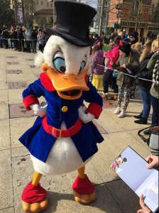 Disneyland Paris Swing into Spring Scrooge McDuck