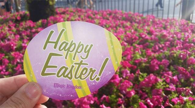 Meet Easter Bunny at the Magic Kingdom in Walt Disney World