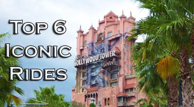 Top 6 Iconic Rides in Walt Disney World