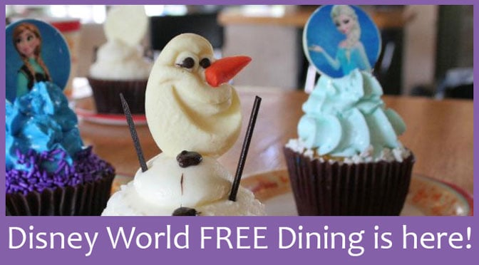 Walt disney world free dining for fall 2015 is here How to get free dining at disney