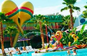 All Star Resort pools to close earlier