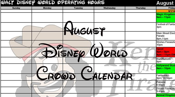 Hollywood Studios updates August and September hours with fireworks and some Disneyland refurbishments
