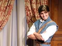 Flynn Rider Play Test in Fantasyland in Walt Disney World Magic Kingdom kennythepirate