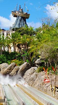 Humunga Kowabunga at Disney's Typhoon Lagoon Water Park