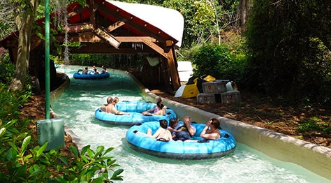 Teamboat Springs at Disney's Blizzard Beach Water Park