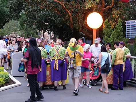 Mickey's Not So Scary Halloween Party at Walt Disney World's Magic Kingdom 2015 (34)