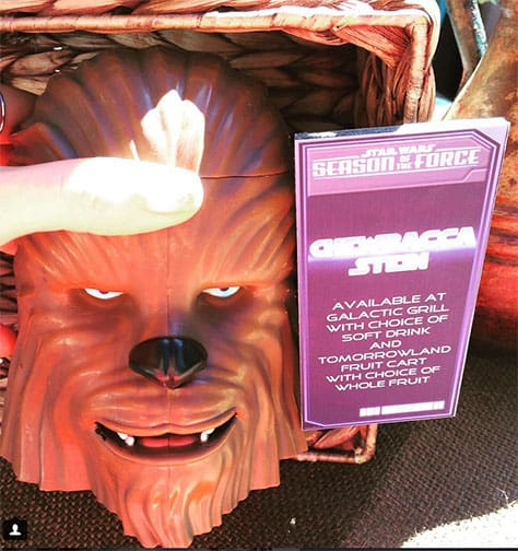 Chewbacca stein for Star Wars Seaon of the Force