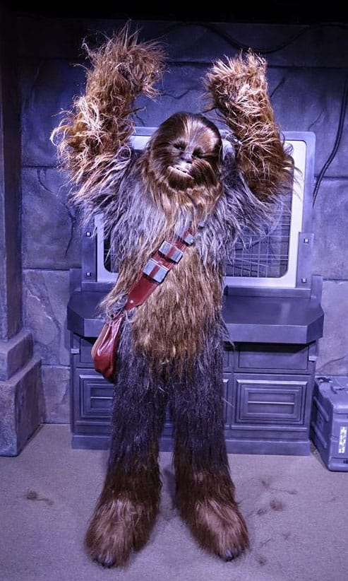 Chewbacca at Star Wars Launch Bay in Hollywood Studios