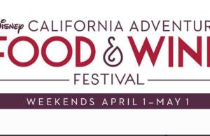 Disney California Adventure Food and Wine Festival returns in 2016