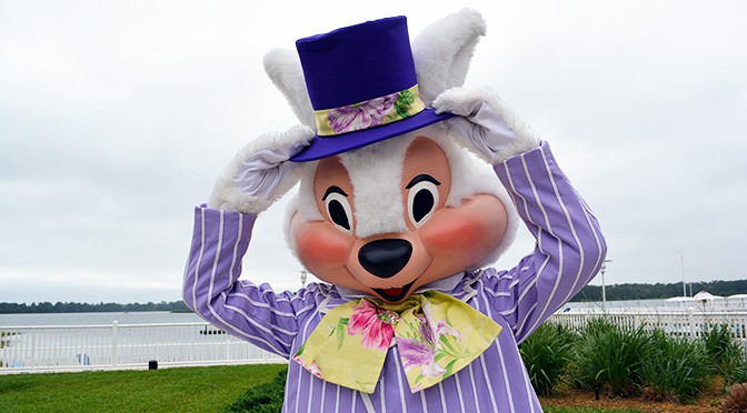 Easter Bunnies return to the Magic Kingdom for Easter Season