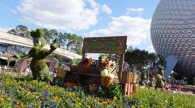 Pirate In The Parks Epcot Flower And Garden Topiaries Installation Completed