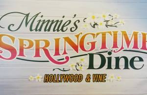 Minnie's Springtime Dine at Hollywood and Vine in Hollywood Studios