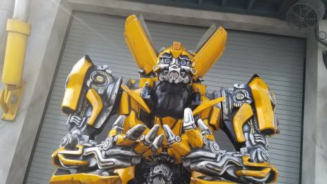Universal Orlando Character Day with Ryan and Heather April 2016 (2) Bumblebee