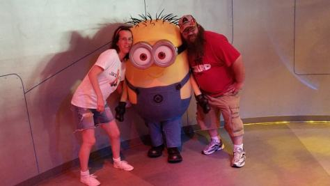 Universal Orlando Character Day with Ryan and Heather April 2016 (29) Jerry Minion