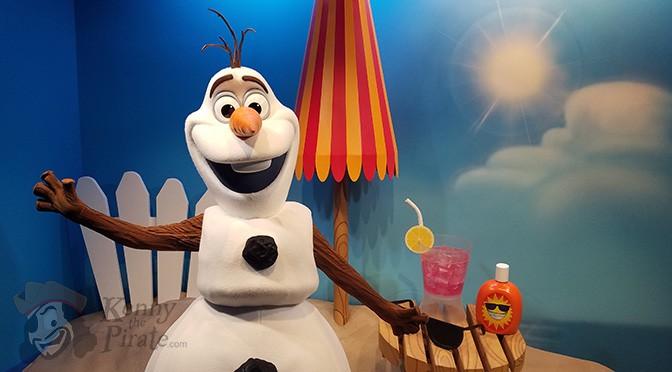Where to meet Olaf in Walt Disney World