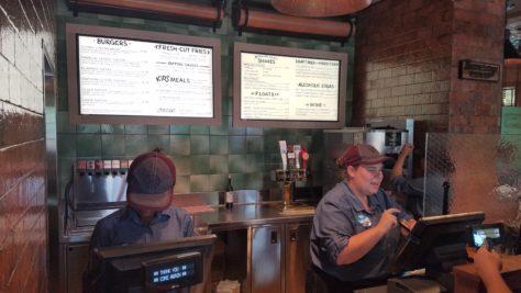 Review of D-Luxe Burger in Disney Springs in Walt Disney World