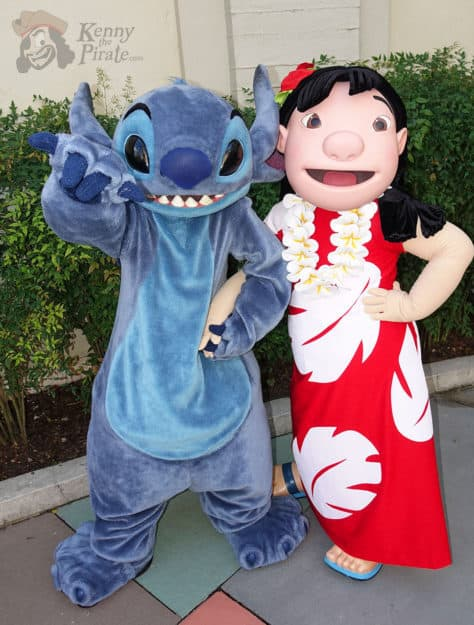 Hollywood Studios Lilo and Stitch character meet and greet (1)