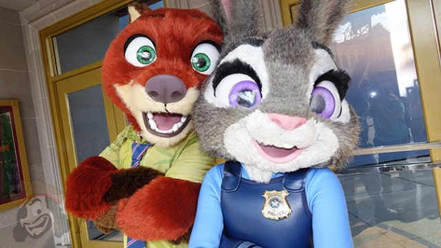 Nick and Judy join the Creepa Crew at Mickey's Not So Scary Halloween Party