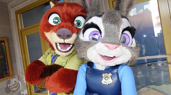 How to meet Nick and Judy from Zootopia at Disneyland's California Adventure