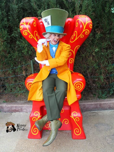 Mad Hatter Disneyland Paris Meet and Greet