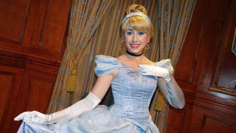 Meet Cinderella in Magic Kingdom at Walt Disney World (2)