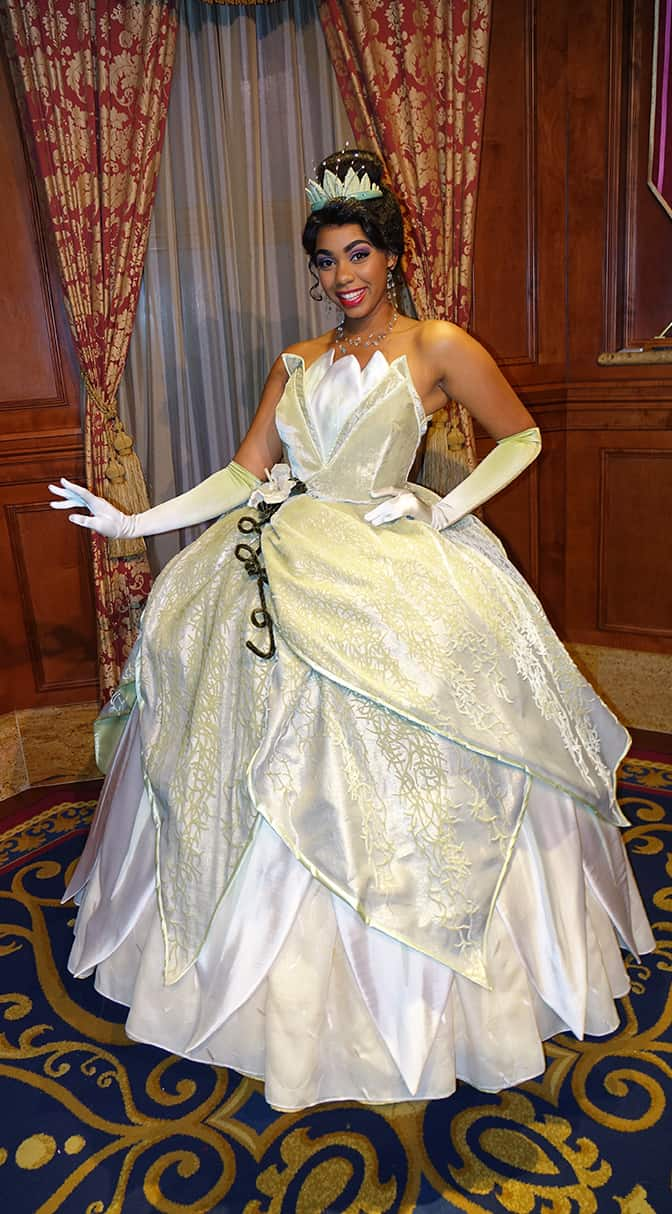 Princess Aurora and Tiana join the Princess Fairytale Hall lineup