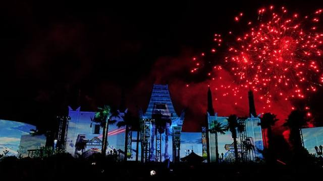 Star Wars A Galactic Spectacular Fireworks Dessert Party at Hollywood Studios in Walt Disney World (71)